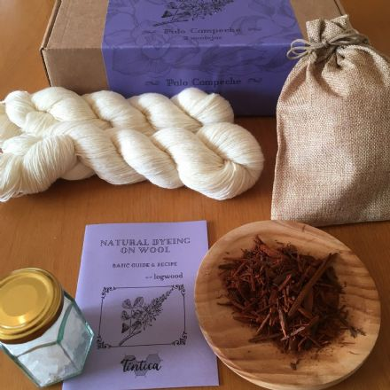 Tintica Natural Dyeing Kit 2 Skeins